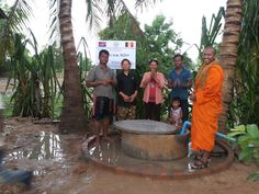 De Roos vzw Water Well Donation Cambodia