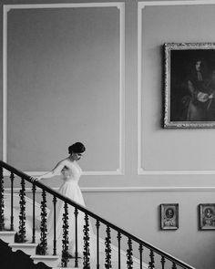 A princess bride at home on the grand staircase at Drenagh House @drenaghweddings Grand Staircase, Photography Portfolio, Bride, Princess, House, Wedding, Instagram, Home Decor, Wedding Bride