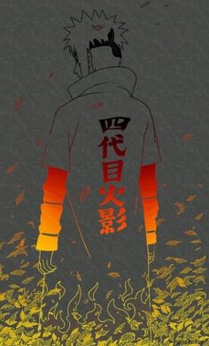 NARUTO - Hokage Minato by shirayuki hotogi Naruto Shippuden Sasuke, Anime Naruto, Art Naruto, Naruto Uzumaki Art, Wallpaper Naruto Shippuden, Naruto Wallpaper, Naruto And Sasuke, Itachi Uchiha, Manga Anime