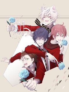 Anime Cat Boy, Anime Guys, Manga Anime, Vocaloid, No Name, Japanese Artists, Fanart, Art Reference, Boy Groups