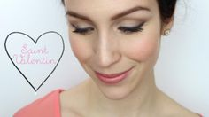 Valentine's day Makeup Maquillage de St-Valentin http://www.youtube.com/watch?v=BjOhvLRcqR4