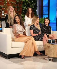Pretty Little Liars Cast on Ellen Show