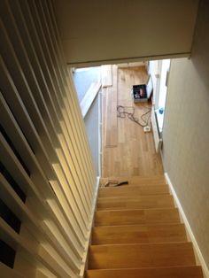 Nytt golv på plats