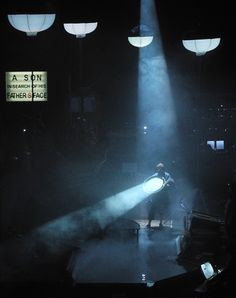 Delusioin of the Fury, with Musikfabrik Light and set design by Klaus Grunberg