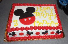 Mickey Mouse Inspired Fondant Cake Toppers Complete by 1STOPPARTY