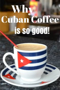 Learn why Cuban coffee is so good! Read about all the different types of Cuban coffe beans and coffee growing methods in Cuba. Latin American Food, Latin Food, Yummy Treats, Sweet Treats, Coffee Words, Cuban Coffee, Kinds Of Beans, Importance Of Food, Espresso Latte