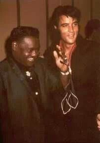 Fats Dominio and Elvis in 1969