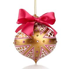 Limited Edition ornament designed by Twiggy to benefit #StJude at hsn.com