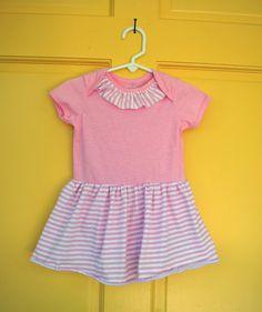 Sutton Grace: tutorial: onesie dress