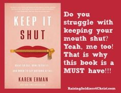 Keep it Shut {Review} - Raising Soldiers 4 Christ