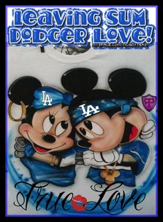 Dodger Let's Go Dodgers, Dodgers Girl, Dodgers Baseball, Los Angeles Dodgers Logo, I Love La, Dodger Blue, Drawings Of Friends, Go Blue, Mickey Minnie Mouse