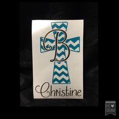 ⭐️please read description before ordering ⭐️ Chevron Cross Decal for yeti cup. It can also be used to personalize anything else such as your Chevron Cross, School Folders, Decals For Yeti Cups, Cup Design, Silhouette Cameo Projects, Vinyl Projects, Cricut Design, Project Ideas, Vinyl Decals