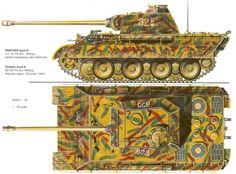"Пантера.Aust- А №-625 Танковая девизия. CC ""Викинг"" 1944год."