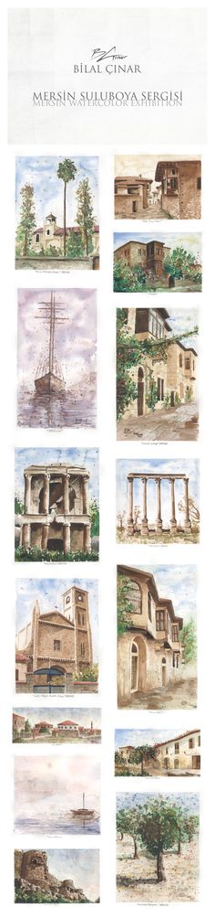 Mersin / Watercolor Exhibition