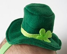 St Patrick's Day Leprechaun Hat Hairband Tutorial