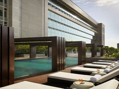 Enjoy Place Side Pool in Luxury Architecture Hotel Ideas