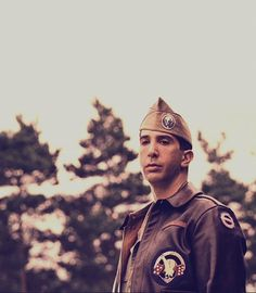 Captain Sobel played by David Schwimmer <3 HATE captain sobel.. LOVE david schwimmer.