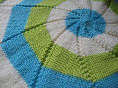 Reverse Pinwheel Blanket - Knitting at Makerist