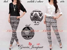 IH118 gracia jumpsuit @76 bahan rayon fit L
