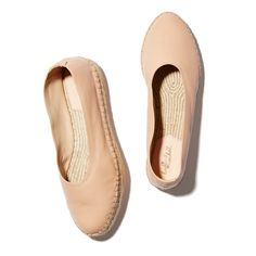 Smartly feminine and so easy to work into your existing early spring wardrobe, this espadrille slip-on functions as a lighter alternative to a ballet flat.