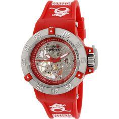 Invicta Women's Subaqua INV-16781 Red Rubber Automatic Watch