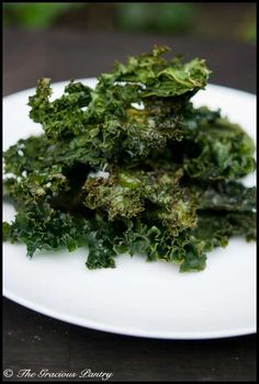 Clean Eating Kale Chips www.TheGraciousPantry.com
