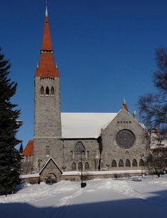 Church of Tampere in Finland