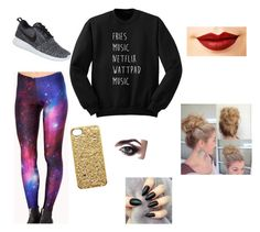 """Untitled #4"" by tjlamb on Polyvore featuring Cosimia, NIKE, Marc by Marc Jacobs and Jeffree Star"