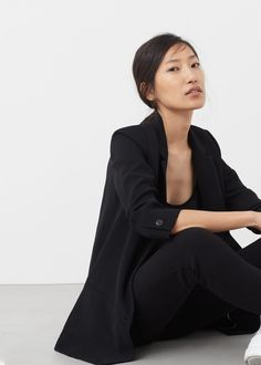 Ruched sleeves blazer - Woman  1e14511678