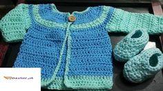 Baby Cardigan 0-3 Months