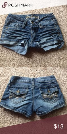 Wallflower jean shorts Perfect condition Jean shorts Shorts Jean Shorts