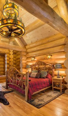 Bedroom furniture | Bedroom | Pinterest | Blue ridge log cabins ...
