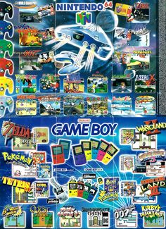 If Nintendo needs help deciding which games to put on a possible Nintendo 64 classic mini. Classic Nes Games, Classic Video Games, Vintage Video Games, Retro Video Games, Retro Games, All Video Games, Video Game Art, Arcade, Nintendo 64 Games