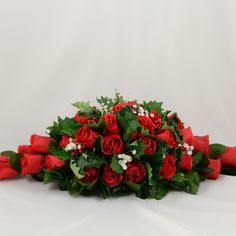 Red Rose Christmas W