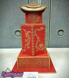 Chinese Pagoda Wedding Cake  on Cake Central