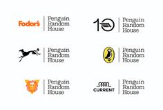 Pentagram: Penguin Random House Identity | two of publishing's biggest names and their 250 individual imprints | 2014 | Michael Bierut