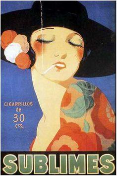 Illustration by Achille Lucien Mauzan. Vintage Advertisements, Vintage Ads, Vintage Prints, Vintage Posters, Illustration Française, Art Aquarelle, Art Deco Posters, Commercial Art, Advertising Poster