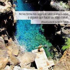 """No hay forma más segura de saber si amas u odias a alguien que viajando con él"" o no viajeros? ""There's no better way to know if you love or hate someone that traveling with him/her"" Or not travelers?  Foto de placeOK en Las Grietas Islas Galapagos Ecuador  #travelquotes #quotes #quotestagram #placeok #travellers #travelbloggers #travelblog #travelinspector #travel #awesome #cute # #picoftheday #happy #bestoftheday #igers #amazing #followme #like4like #repost #instagood #instamood #fun…"