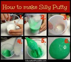 How to make silly putty with borax family kids pinterest silly how to make silly putty with borax family kids pinterest silly putty craft and slime ccuart Gallery