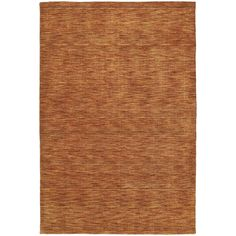 Gabbeh Hand-tufted Paprika Rug (8' x 11') | Overstock.com