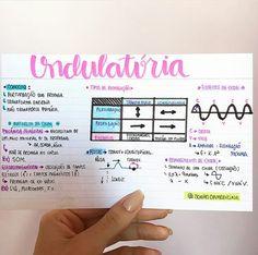 Instagram: @sonhodamedicina FÍSICA: ONDULATÓRIA part.1