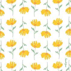 pattern // floral // spring
