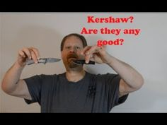 Kershaw Knives quick look Knives, Knife Making, Knifes