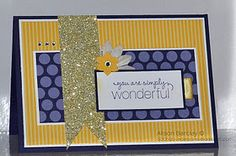 """Stampin' Up! card using """"Friendly Phrases"""" set."""