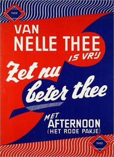 Van Nelle thee is vrij