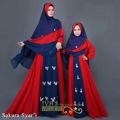 HIJABI Muslim Fashion, Modest Fashion, Hijab Fashion, Fashion Dresses, Kids Abaya, Dress Outfits, Kids Outfits, Face Veil, Pints