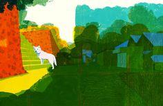 自然光線與筆觸的溫馨插畫 | MyDesy 淘靈感