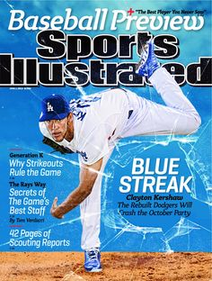 L.A. Dodgers Pitcher Clayton Kershaw -  Sports Illustrated Baseball Preview 2013