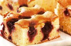 Višňová bublanina (Cherry bublanina) - universal slovak cake