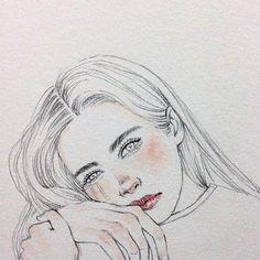 3am . . . #sketch #sketchbook #sketchoftheday #drawing #pencildrawing #dailydrawing #watercolor #illustration #portrait #art #artistoninstagram